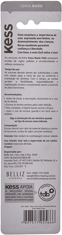 KESS ESCOVA DENTAL COMBO LEVE 3 PAGUE 2