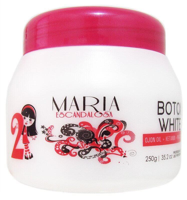 MARIA ESCANDALOSA BOTOX BOTOKINHO WHITE CREME ARGAN - 250G
