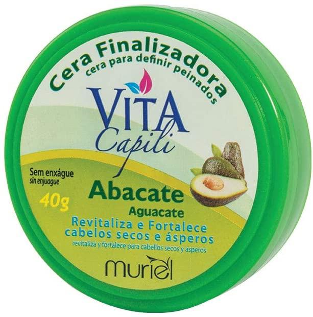 Muriel Cera Finalizadora Vita Capili Abacate - 40g