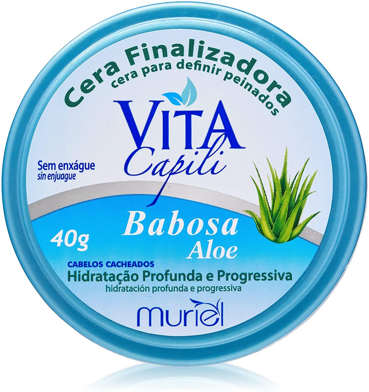 Muriel Cera Finalizadora Vita Capili Babosa Aloe - 40g