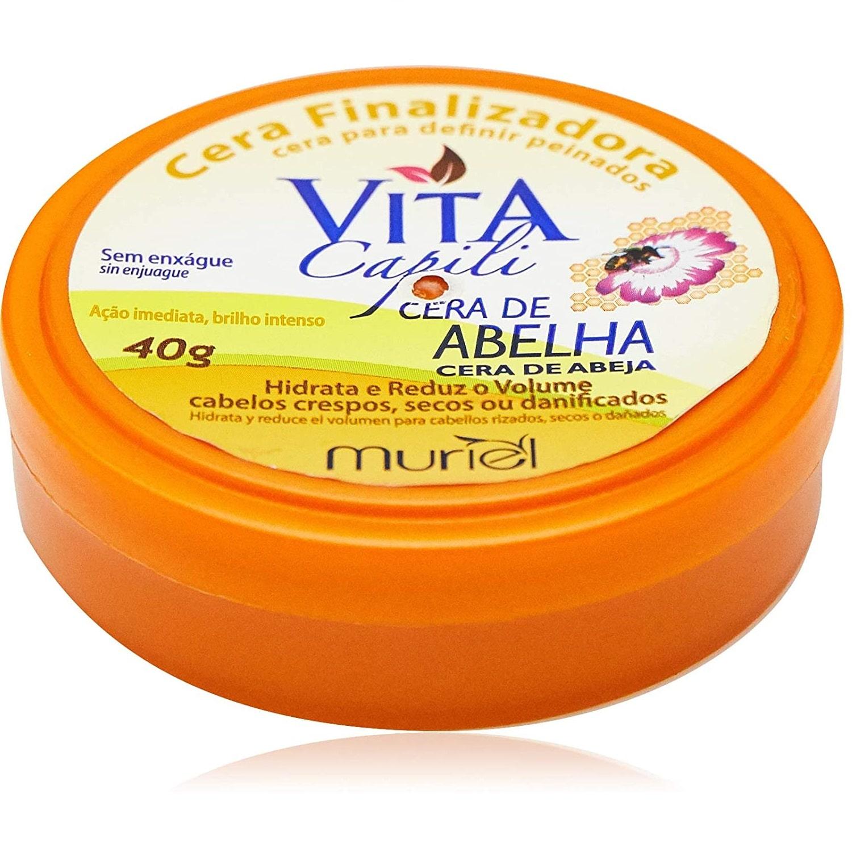 Muriel Cera Finalizadora Vita Capili Cera de Abelha - 40g
