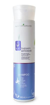 NATHYDRAS  SHAMPOO MATIZADOR ALHO THERAPY 340ML