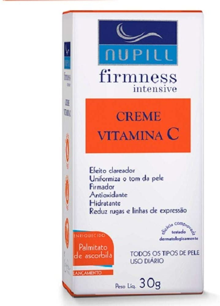 NUPILL CREME FACIAL VITAMINA C CLAREADOR 30GR
