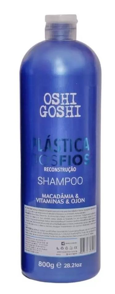 OSHI GOSHI KIT PLÁSTICA DOS FIOS HIDRATAÇÃO (2X800g)