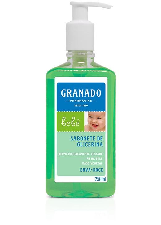 SABONETE LÍQUIDO GRANADO BEBÊ ERVA DOCE - 250ML