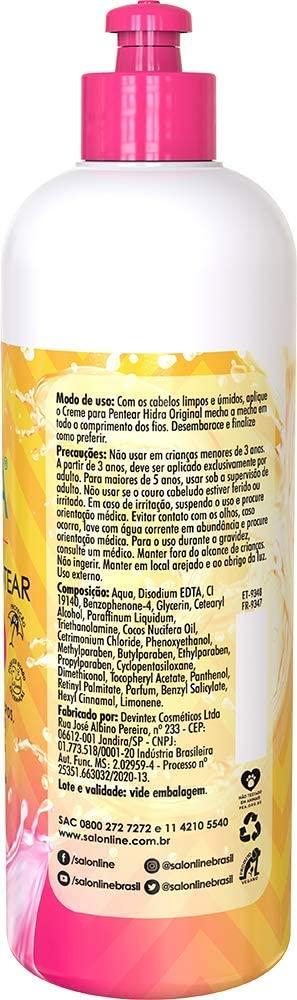 SALON LINE HIDRA ORIGINAL CREME PARA PENTEAR - 500 ml