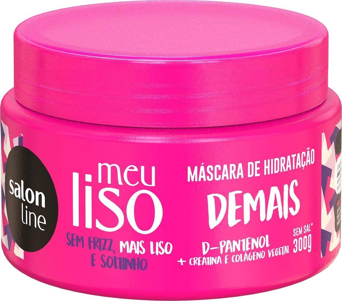 SALON LINE MÁSCARA DE HIDRATAÇÃO MEU LISO DESMAIADO - 300 g