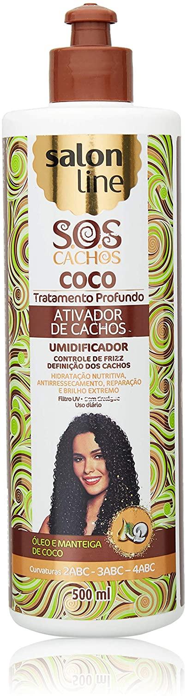 SALON LINE SOS ATIVADOR DE CACHOS 500 ML