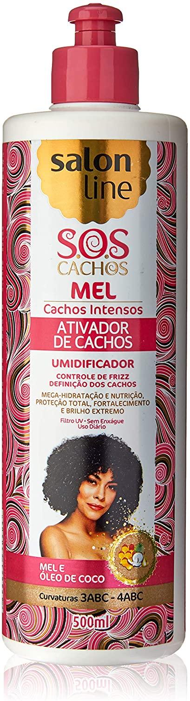 SALON LINE SOS CACHOS MEL ATIVADOR DE CACHOS - 500 ml