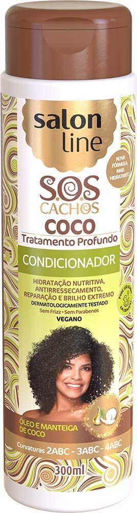 Salon Line SOS Condicionador Coco - 300ml