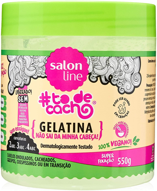 GELATINA #TODECACHO NÃO SAI DA MINHA CABEÇA! SALON LINE 500gr