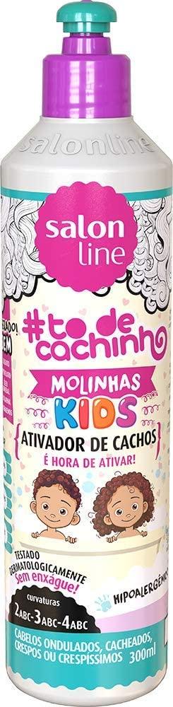 SALON LINE #TODECACHINHO KIDS ATIVADOR DE CACHOS 300ML