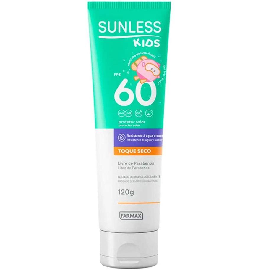 Sunless Protetor Solar Oil Free kids 120ml