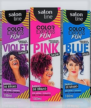 TONALIZANTE COLOR EXPRESS SALON LINE 100ML