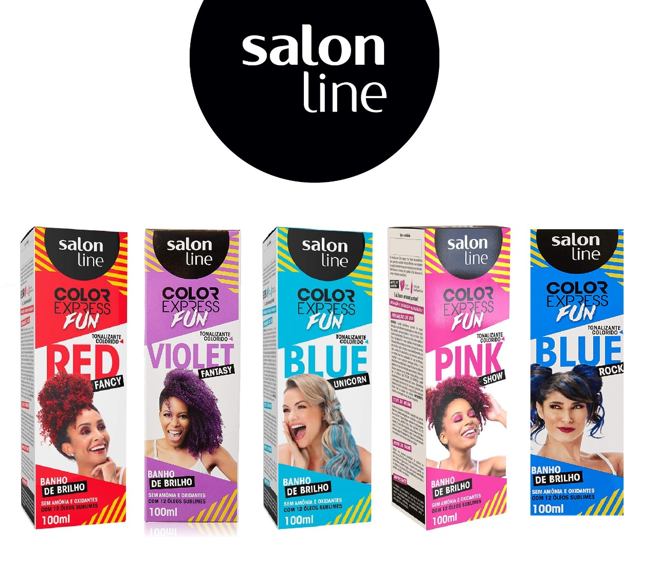 Tonalizante Color Express Salon Line 100ml