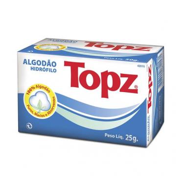 TOPZ ALGODÃO ROLO PACOTE 25G