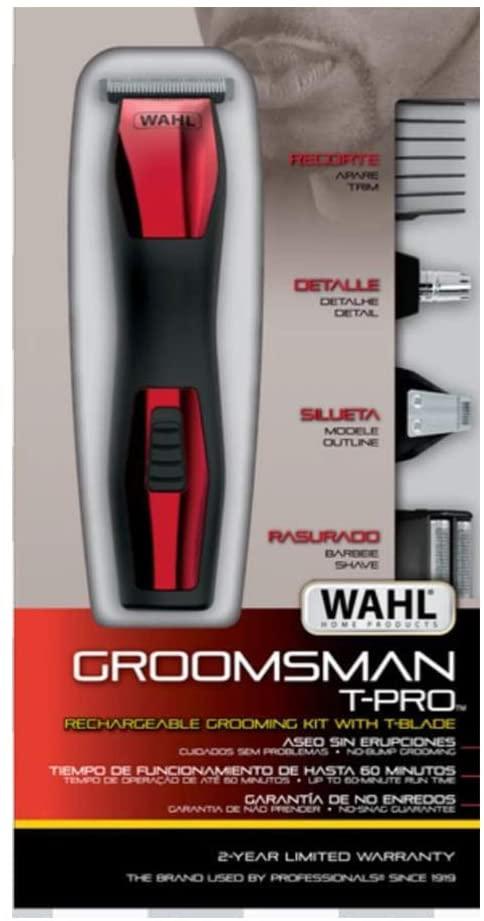 WAHL APARADOR DE PELOS GROOMSMAN T-PRO 9855-44810