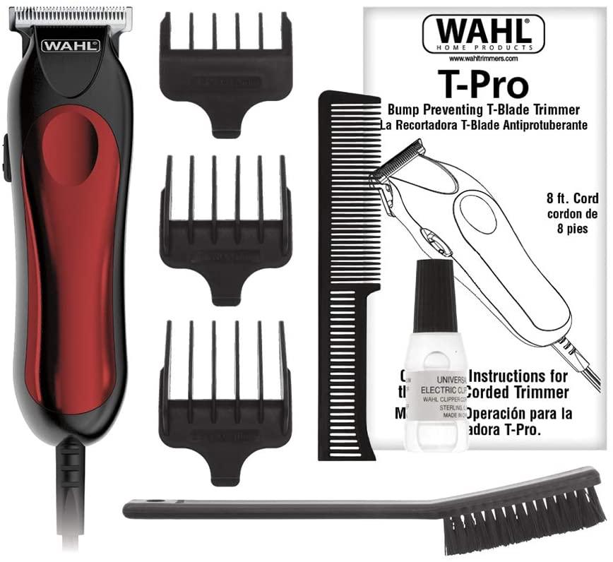 WAHL MÁQUINA DE CORTE APARADOR T-PRO 9307-04850 BIVOLT