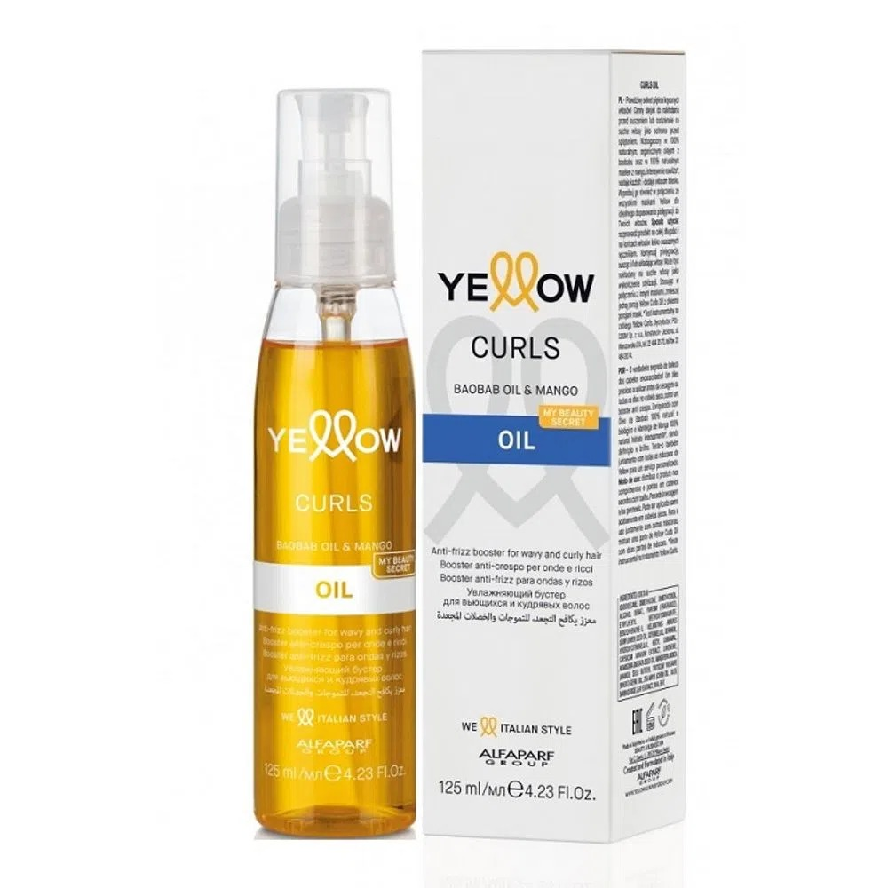 YELLOW CURLS OIL CACHOS 120ML