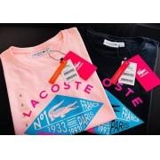 Camiseta Lacoste Feminina Estampada Premium (cada)