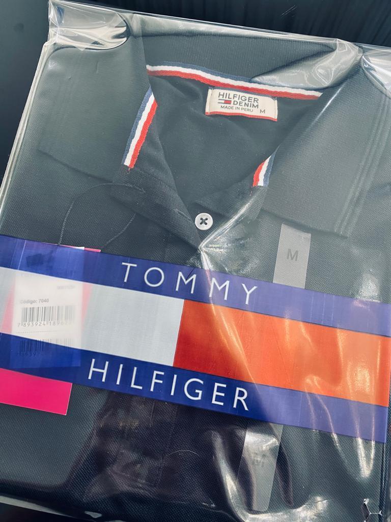 Camisa Gola Polo Tommy Hilfiger Feminina Bordada Premium (cada)