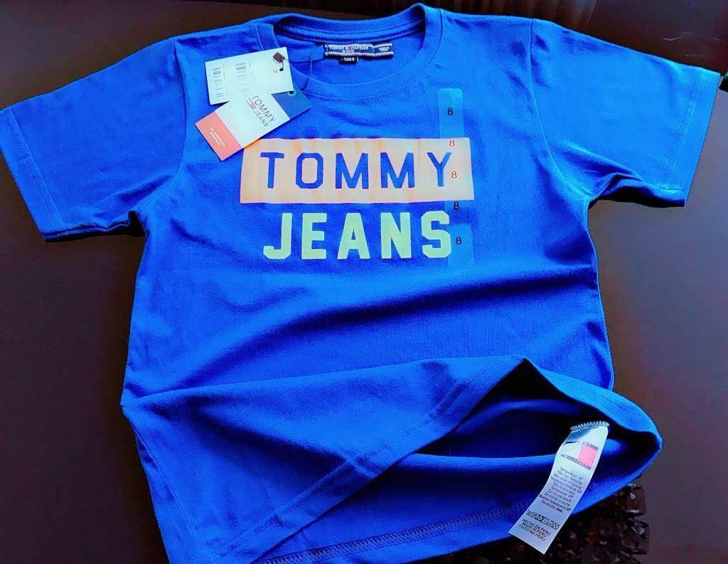 Camiseta Tommy Hilfiger Infantil Premium (cada)