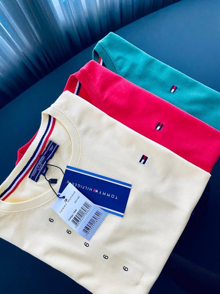 Camiseta Tommy Hilfiger Infantil Lisa Premium (cada)