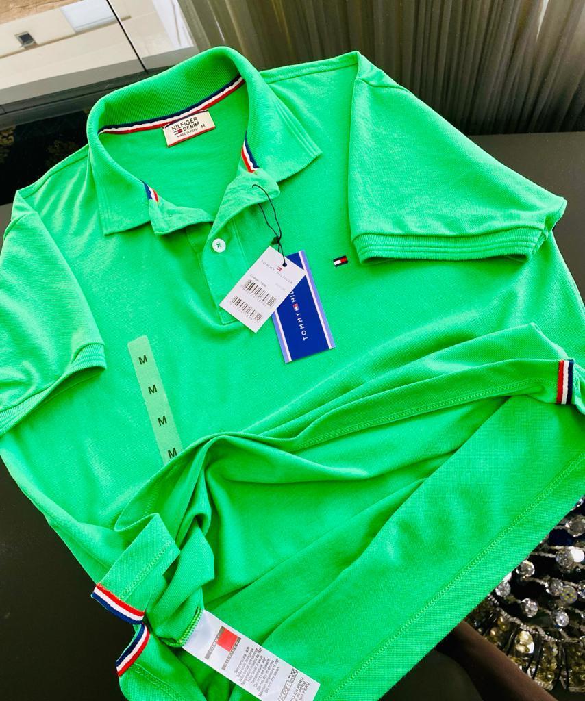 Gola Polo Tommy Hilfiger Masculina Premium (cada)