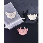 Kit 3 sabonetes argila Magic Cats