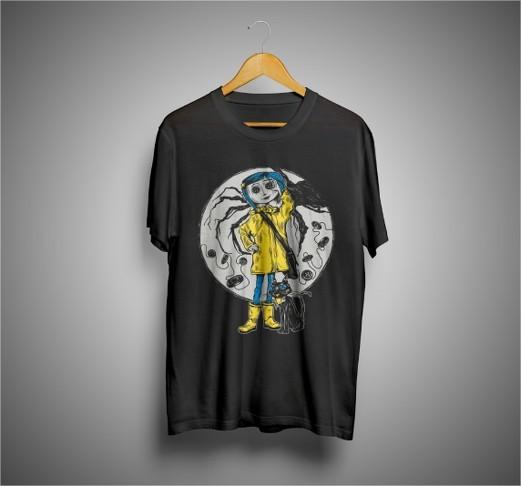 Camiseta Coraline