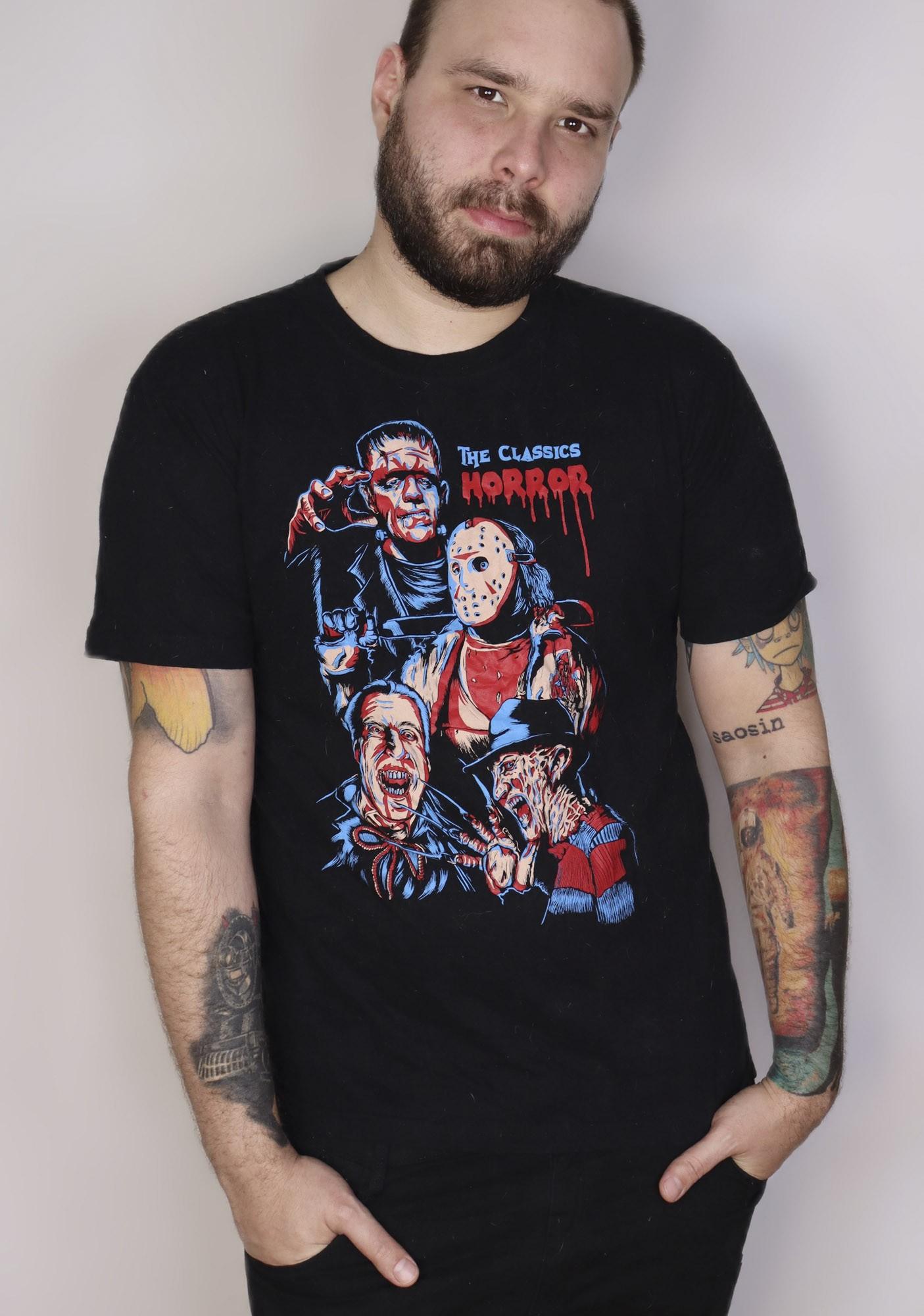 Camiseta Horror Scene