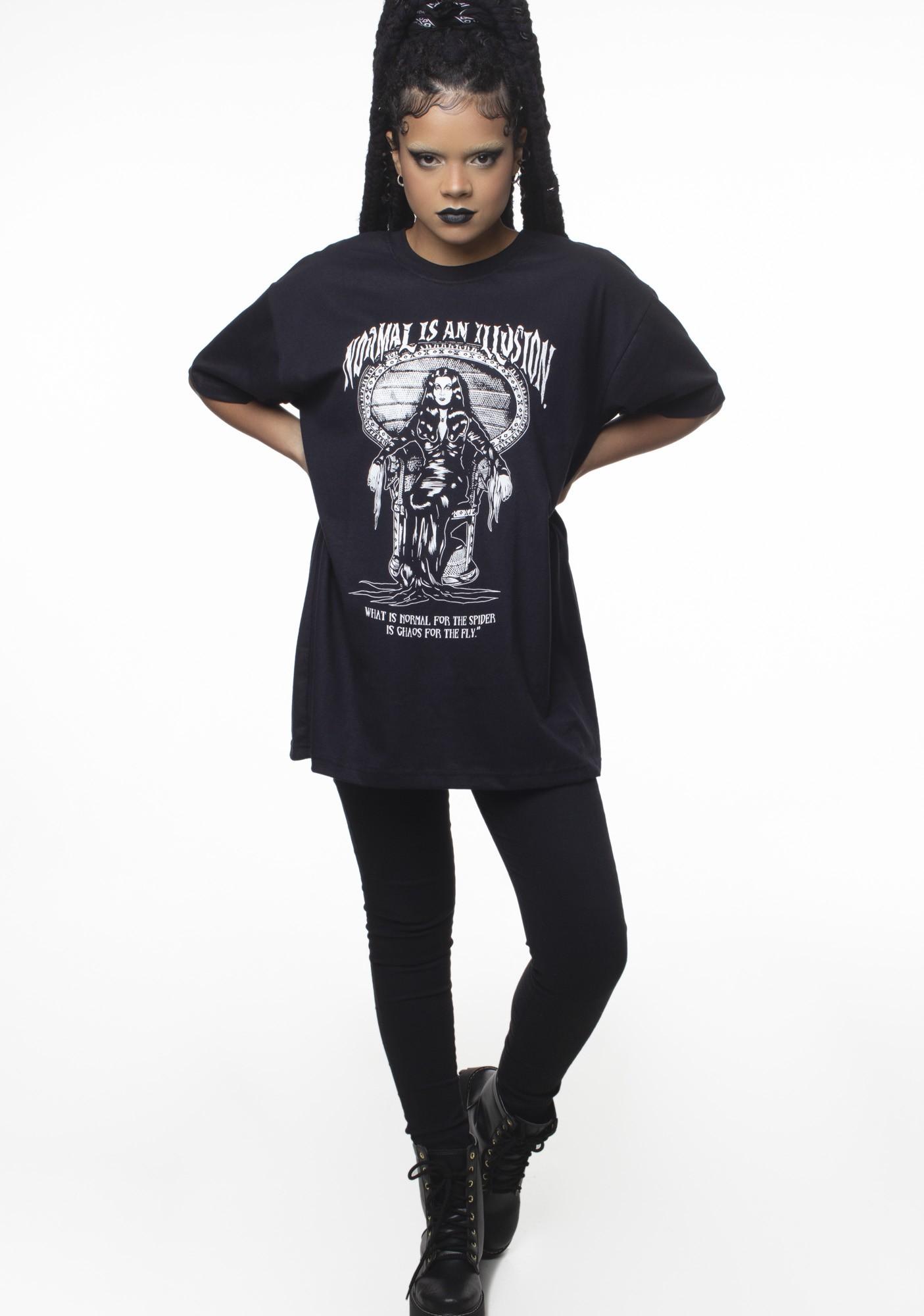 Camiseta Mortícia