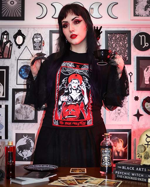 Camiseta The High Priestess