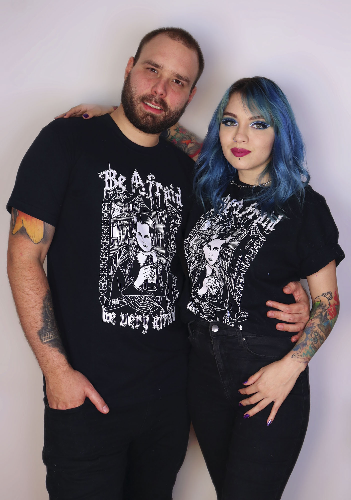 Camiseta Wandinha Addams