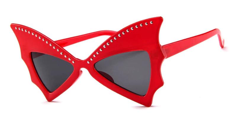 Óculos Bat Vermelho