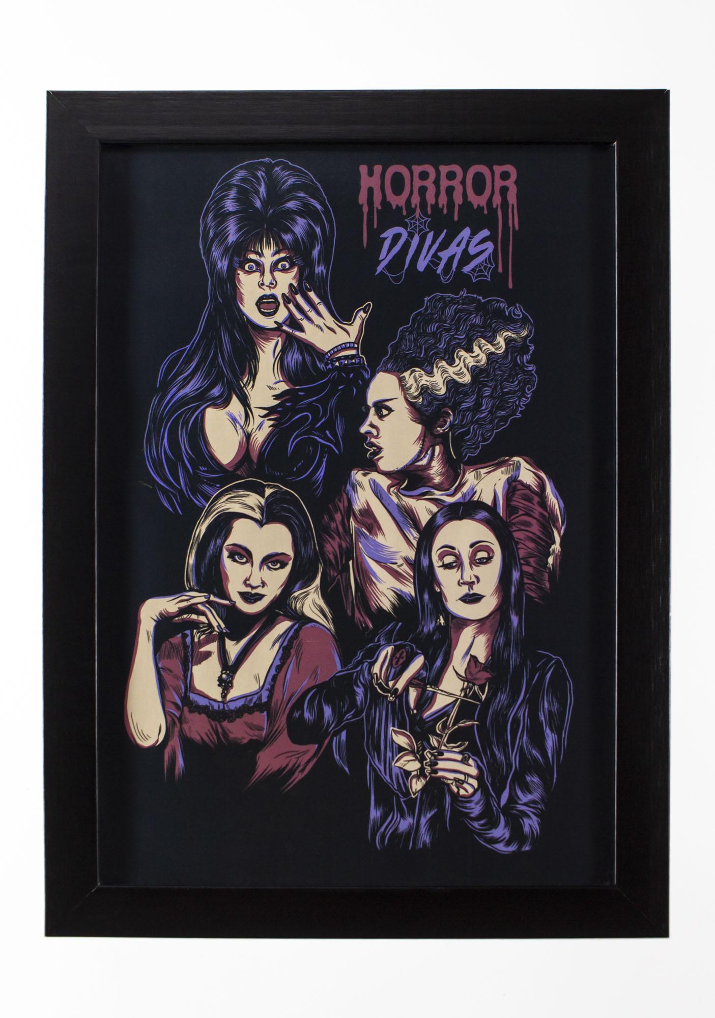 Quadro Horror Divas