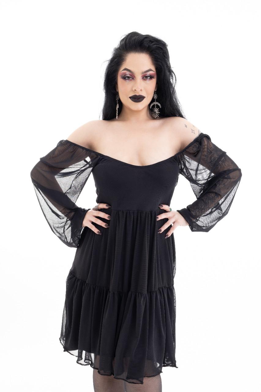 Vestido Dara Preto