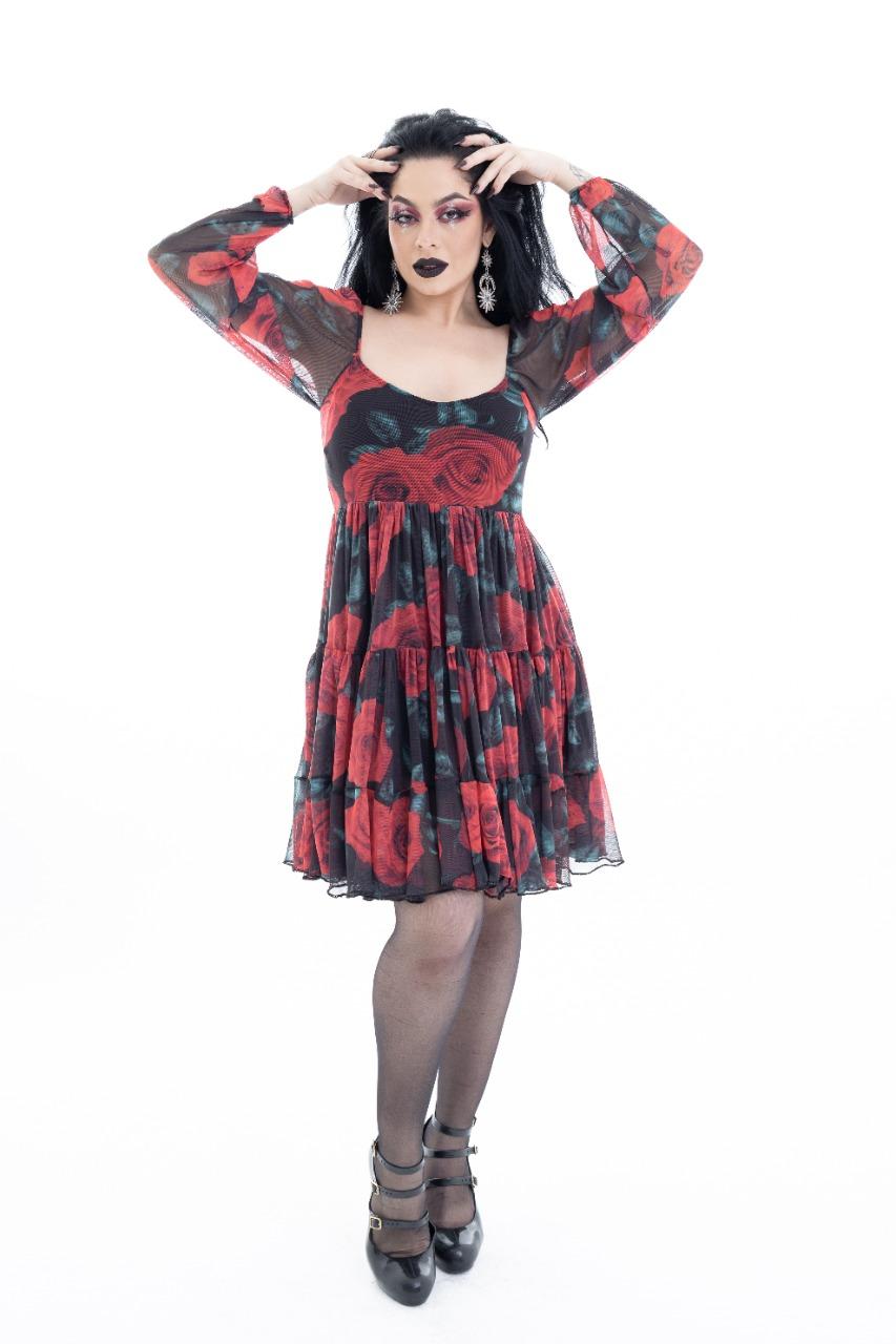 PRÉ VENDA Vestido Dara Rosa  Ed. Limitada