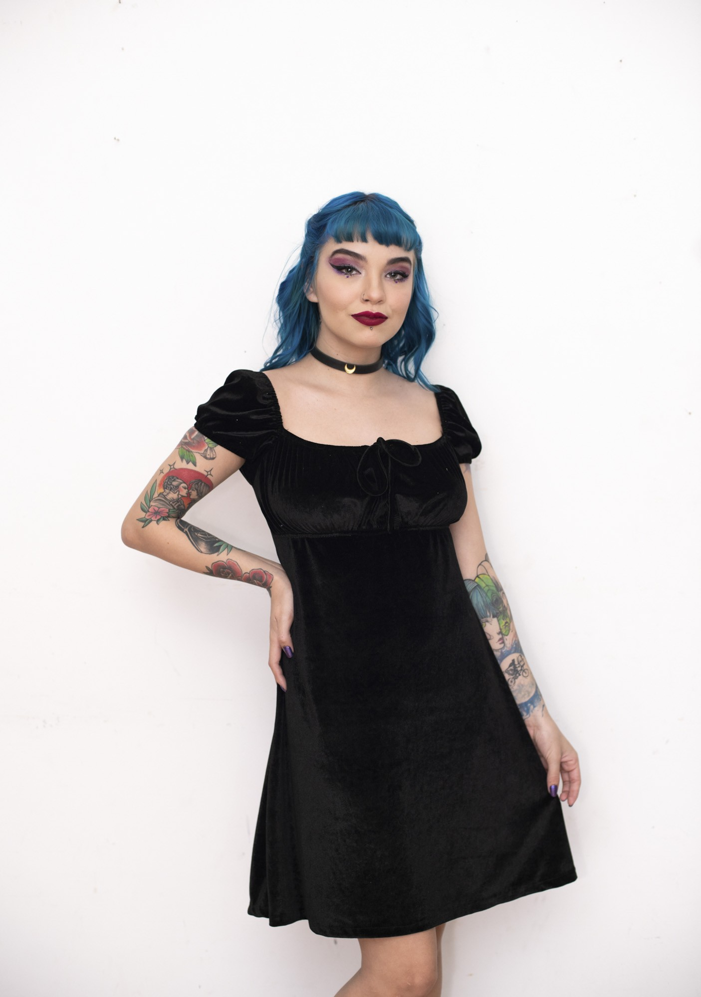 Vestido Luna Preto