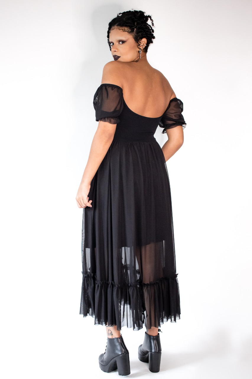 Vestido Tule Alquimia