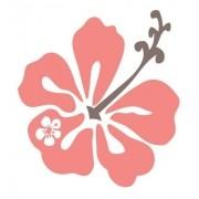 Adesivo Parede Em Alto Relevo Flor 70x75cm - Vermelho