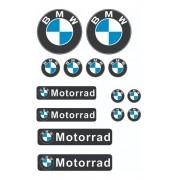 Adesivos para Capacete -  Moto Bmw Motorrad - Refletivo