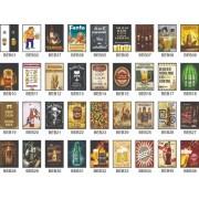 Kit 5 quadros - Bebidas | Bar | Drinks - Escolha o seu - 20x30cm