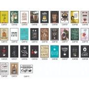 Kit 3 quadros - Bebidas | Bar | Drinks - Escolha o seu - 20x30cm