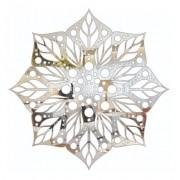 Mandala - Espelho Acrilico Decorativo 30x30cm