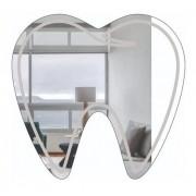 Espelho Decorativo Profissões - Dentista - Dente - 80x75cm