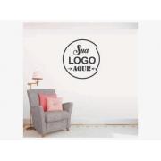 Logo 3d Personalizada Em Alto Relevo - Aplique De Parede - 40x75cm
