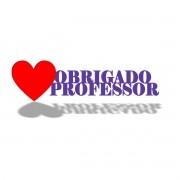 Placa de Mesa - Profissões - Professor | Pedagogia - Personalizavel | Personalizado - 50x20cm