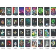 Quadro Decorativo Rick & Morty Kit 10 Quadros 30x20