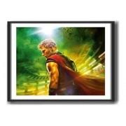 Quadro Decorativo Thor Ragnarok -